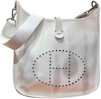 Hermes Evelyne Leather Crossbody Bag