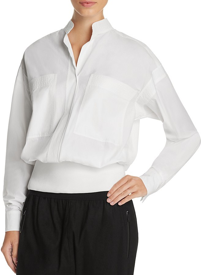 DKNY DKNY Pure Patch Pocket Pullover Shirt