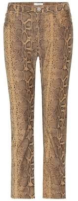 Etoile Isabel Marant Isabel Marant, Étoile Aliff printed straight-leg jeans
