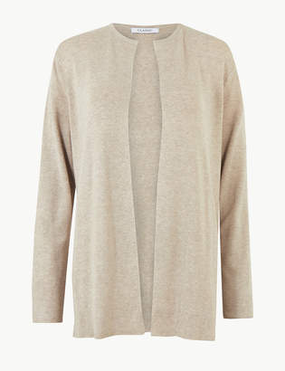 Marks and Spencer Open Front Longline Cardigan