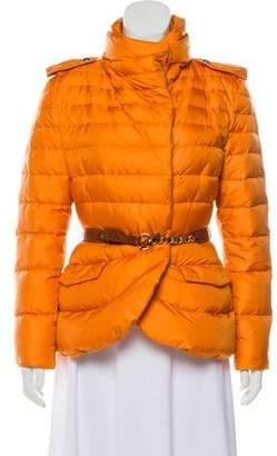 Ermanno Scervino Short Puffer Coat