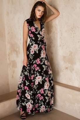 Yumi Kim Swept Away Silk Maxi Dress