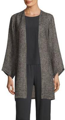 Eileen Fisher Bracelet Sleeve Jacket $278 thestylecure.com