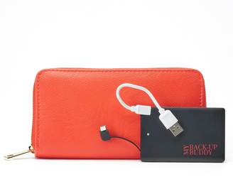 Apt. 9 RFID-Blocking Zip-Around Phone Charging Wallet