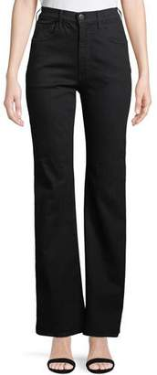 3x1 W4 Adeline High-Rise Split Flare Jeans
