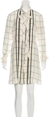 Valentino Long Sleeve Mini Dress w/ Tags