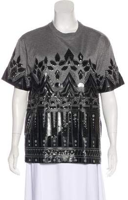 DSQUARED2 Sequin Short Sleeve Top w/ Tags