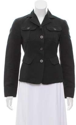 Gucci Linen-Blend Denim Jacket
