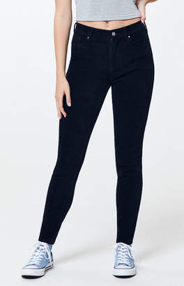 PacSun Black Corduroy High Waisted Jeggings