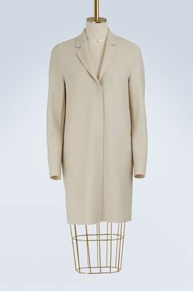 Harris Wharf London Cocoon wool coat