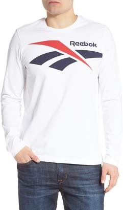 Reebok Classics Vector Logo Long Sleeve T-Shirt