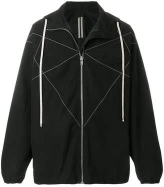 Rick Owens zipped hooded jacket