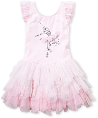 Biscotti Baby Girls 4-6x) Pink Ballerina Tutu Dress