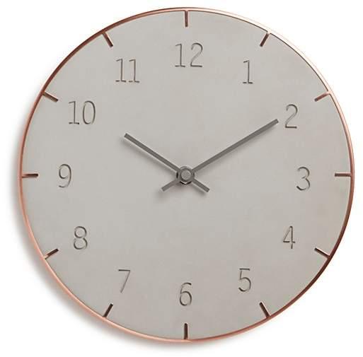 Piatto Concrete Wall Clock