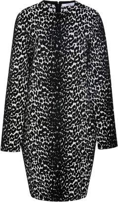 Givenchy Leopard-Print Stretch-Knit Mini Dress