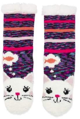 ONLINE Cuddly Critters Cozy Warmer Slipper Socks (Little Girls & Big Girls)