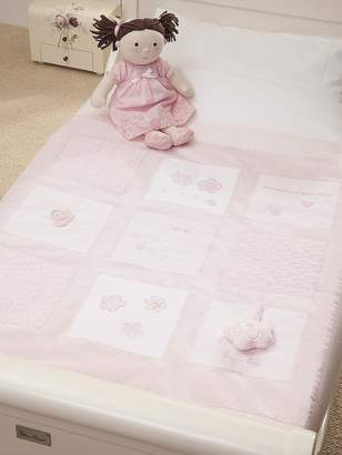 Silver Cross Luxury Cot Quilt - Vintage Pink