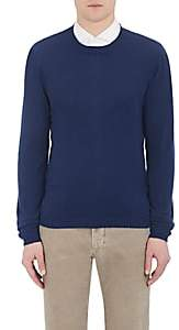 Barneys New York Men's Lightweight Cashmere Sweater-Navy