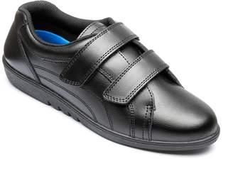Free-Step Ladies 'Rex' Shoe In Black Leather