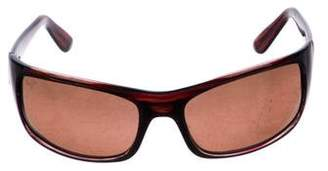 Maui Jim Tinted Rectangle Sunglasses