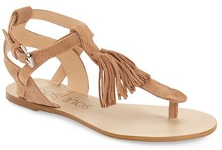 Women's Sole Society 'Pandora' Fringe Sandal $69.95 thestylecure.com
