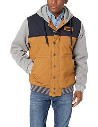 Cinch Men's Canvas Jacket with Quilted Lining