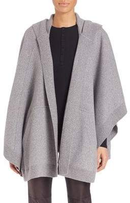 Burberry Carla Hooded Knit Cape