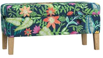 Pottery Barn Teen Ellie Storage Bench, Kinship Floral