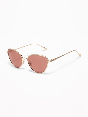 Old Navy Wire-Frame Cat's Eye Sunglasses for Women