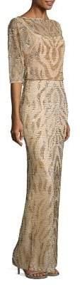 Rachel Gilbert Bonita Embellished Gown