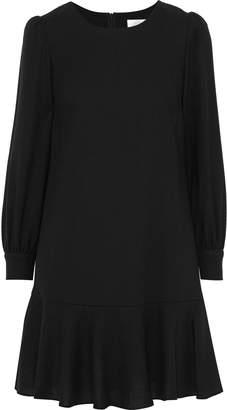 Goat Gwen Fluted Wool-crepe Mini Dress