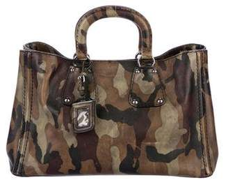 Pre-Owned at TheRealReal · Prada Saffiano Camouflage Tote 6a89837f2c