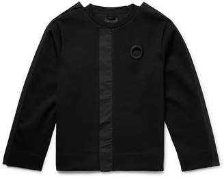 Craig Green Poplin-Trimmed Stretch-Jersey Sweatshirt - Black