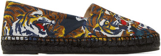 Kenzo Multicolor Flying Tiger Espadrilles $195 thestylecure.com