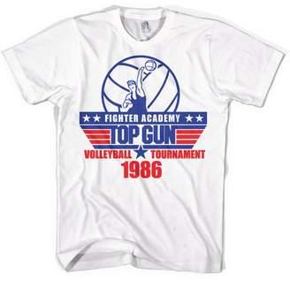 Top Gun T Shirt Volleyball Tournament new Official Mens