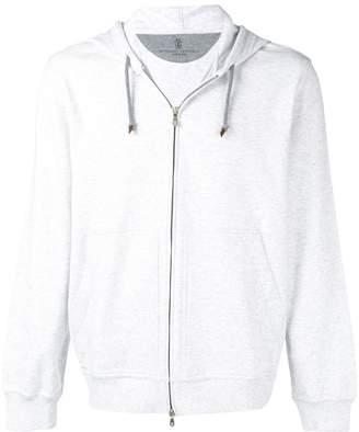 Brunello Cucinelli basic hooded jacket