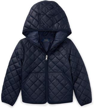 Ralph Lauren Quilted Hooded Full-Zip Jacket