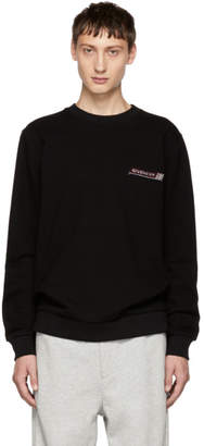 Givenchy Black Sequin Logo Sweatshirt