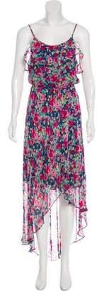 Joie Silk High-Low Dress