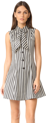 McQ - Alexander McQueen Neck Tie Dress $595 thestylecure.com