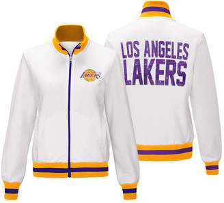 G-iii Sports Women's Los Angeles Lakers Field Goal Track Jacket