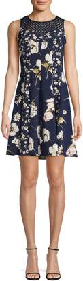 Gabby Skye Sleeveless Floral Dress
