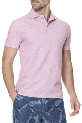 Rodd & Gunn Men's Cascade Creek Heathered Polo Shirt