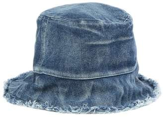 Collection XIIX Reversible Denim Bucket Hat