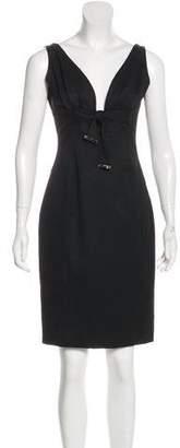 Gucci Wool Knee-Length Dress