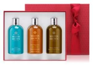 Molton Brown Adventurous Advent Bath Three-Piece Gift Set