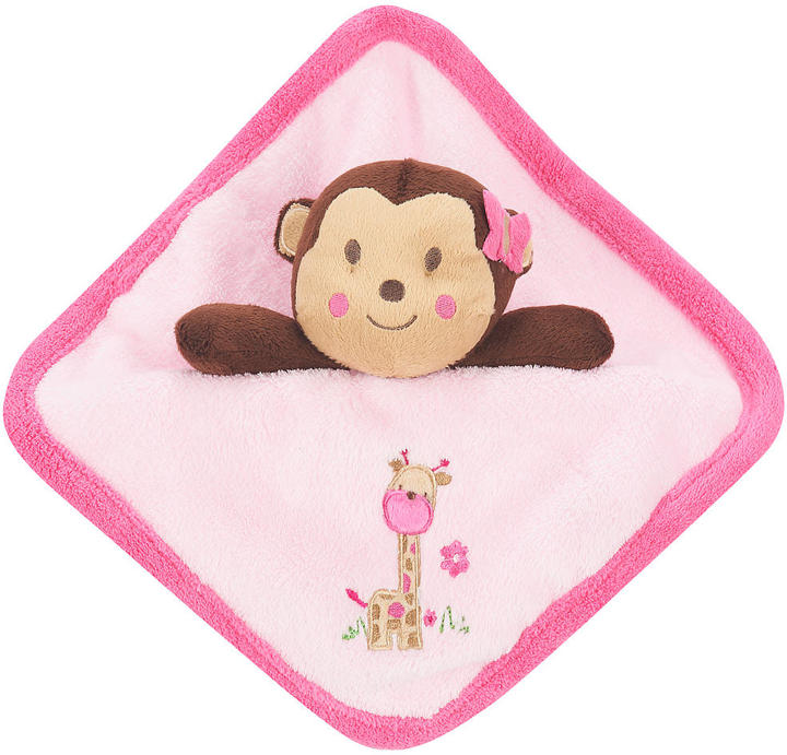 Triboro Quilt Mfg Co Just Born Girl Sassy Safari Security Blanket