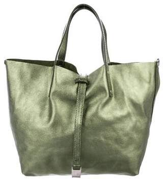 Tiffany & Co. Small Metallic Reversible Tote