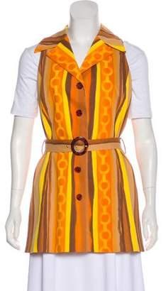 Celine Vintage Printed Vest