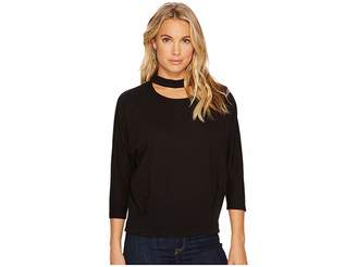 Heather Maddy Peekaboo Neck Pullover Women's Clothing
